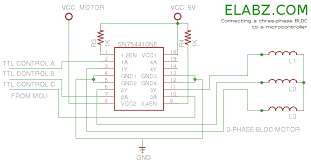 brushless dc bldc motor with arduino u2013 part 2 circuit and software