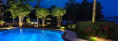 Landscape Lighting Installation - outdoor lighting perspectives shines during the lighting