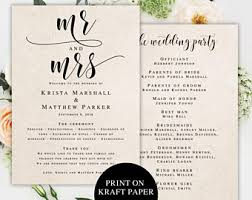 Cheap Wedding Program Fans Wedding Program Fan