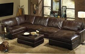 Discount Modern Sectional Sofas by Sofa Grey Leather Modern Sectional Sofa With Two Recliners And