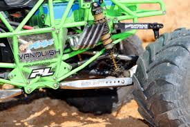 remote control grave digger monster truck pro line puts the u201cdigger u201d in axial racings smt10 grave digger