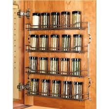 Wall Mount Spice Cabinet With Doors Wall Mounted Spice Rack Wall Mount Spice Racks For Kitchen