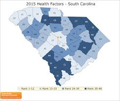 Map Of South Carolina Counties South Carolina Rankings Data County Health Rankings U0026 Roadmaps