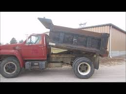 ford f700 truck 1987 ford f700 dump truck for sale sold at auction december 31