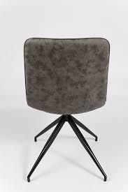 drehstuhl esszimmer sam esszimmer drehstuhl grau schwarze metallbeine eiko
