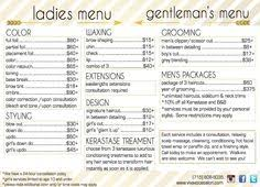 jcpenney hair salon price list pictures beauty salon services and prices human anatomy chart