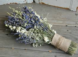 lavender bouquet bridal bouquet dried lavender bouquet dried flower bouquet