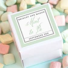 personalized wedding favors personalized square wedding labels