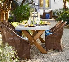 Pottery Barn Patio Furniture Best Outdoor Dining Sets Dwr West Elm Crate Ikea U0026 8 More