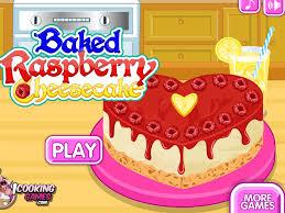 jeux de cuisine de jeu de cheese cake à la framboise
