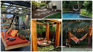 Hammock Backyard Stylish 38 Lazy Day Backyard Hammock Ideas Selected Your Outdoor