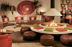 Indoor Fire Pit Coffee Table Interiors Fireplace Ideas Features Ethanol Fireplace With