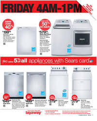 sears black friday hours sears black friday 2011 ad scan