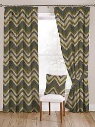 Geometric Pattern Curtains Mcalister Textiles Navajo Chevron Geometric Pattern Green And