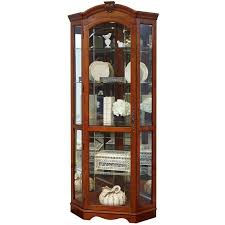 Curio Cabinets With Glass Doors Curio Cabinet Howard Miller Display Cabinets Corner Curio
