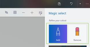 how to crop the background out of an image in paint 3d