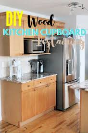 staining kitchen cabinets yourself how to refinish wood cabinets