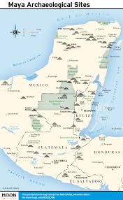 Mayan Empire Map Printable Travel Maps Of Belize Moon Travel Guides
