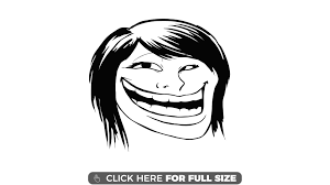 Troll Meme Images - female troll face meme wallpaper