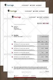60 best invoice template designs download images on pinterest