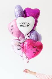 valentines day baloons personalize inexpensive balloons for a s day treat