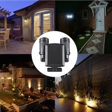 Solar Security Motion Sensor Light by Pir Motion Sensor Rotatable Solar Powered Security Led Light