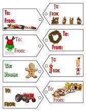 christmas christmas label templates