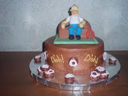 u0027oh homer simpson birthday cake cakecentral