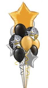 balloon delivery island black and gold balloon bouquet balloonbouquets blackandgold
