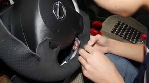 nissan altima 2013 hubcap price nissan qashqai x trail hand sewn steering wheel cover install