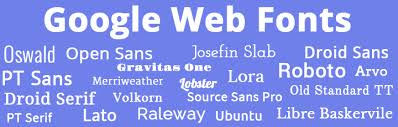 top 20 google web fonts and how to use them bootstrapbay