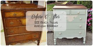 Diy Painted Furniture Diy Chalk Paint Antique Dresser Gray Table Home