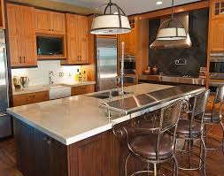 Kitchen Island Counters 77 Best Concrete Countertops Kitchen Islands And Bar Images On