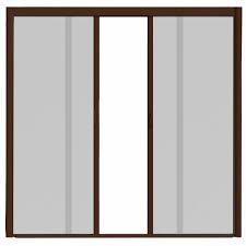 standard garage door opening odl 72 in x 78 in brisa white short height double door kit