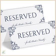 printable reserved table signs 29 images of elegant reserved printable template leseriail com