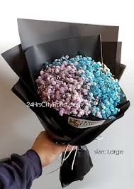 baby s breath bouquet baby s breath bouquet 24 hrs city florist singapore