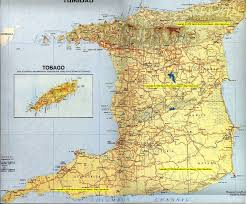 Trinidad World Map by Caribbean Homes Trinidad And Tobago Road Map Of Trinidad And