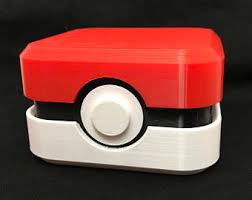 pokeball engagement ring pokeball ring box etsy