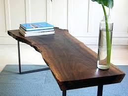 wood slab coffee table diy wood slab coffee table diy d i y hairpin g tab after photo diy wood