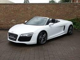 audi r8 13 2013 13 audi r8 v10 spyder for sale ibis white supercars 3