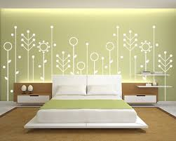 Wall Painting Design Ideas - Bedroom wall paint designs