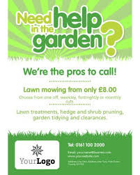 Mowing Business Cards Lawn Mowing A3 Posters Template Designs We Like Pinterest