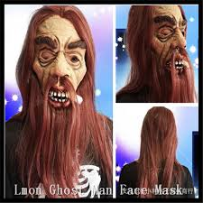 Halloween Costumes Man Free Shipping Halloween Costumes Man Mask Long Hair
