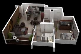Floor Plan Web App Floor Plan Of 2bhk Flat Ary Studios