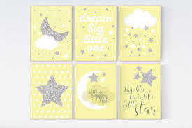 Yellow Gray Nursery Decor Nursery Decor Neutral Yellow Gray Nursery Nursery Decor Yellow