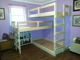Free Bunk Bed Plans Full Over Full by Triple Bunk Bed Plans Sanblasferry