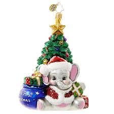 christopher radko ornament 2016 radko a trunk ful babys first