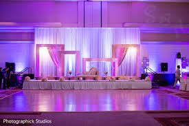reception in tysons corner va indian wedding by photographick