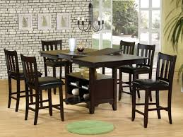 Counter Height Table And Chairs Set Kitchen 19 Bar Height Kitchen Table Sets High Pub Style Table