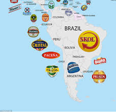 beer cheers cartoon world beer map shows every country u0027s most popular brew daily